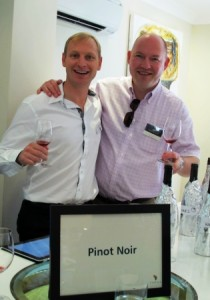 PIWOSA members Paul Cluver of Paul Cluver & Alex Dale of Radford Dale